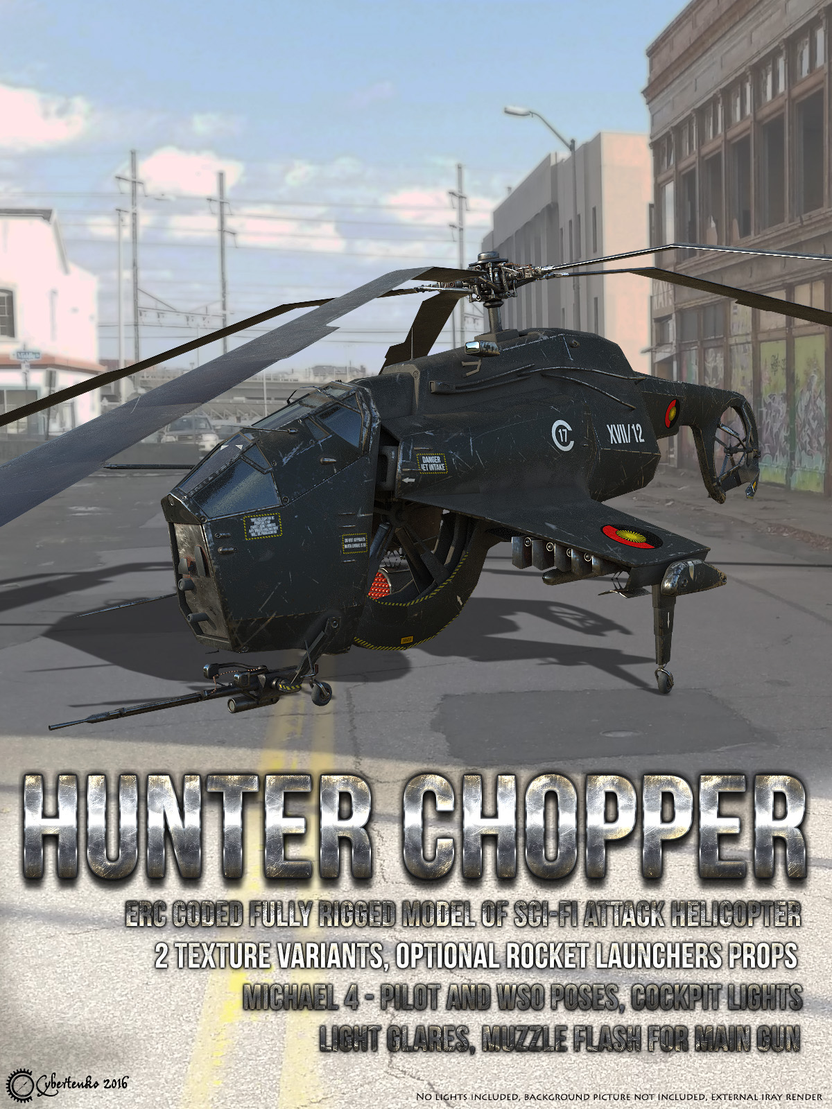 Hunter Chopper by Cybertenko