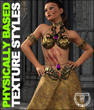 Productname: OOT PBR Texture Styles for Vampire Queen 3D Figure Assets outoftouch