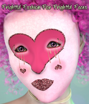 Frightful Fashion For Frightful Faces 3D Figure Essentials fictionalbookshelf