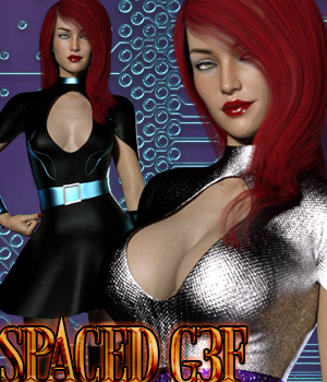 Spaced G3F 3D Figure Assets kaleya