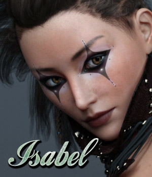 Isobel and Sobel for G3F 3D Figure Assets Anain