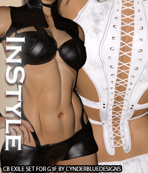 InStyle - CB Exile Set G3F 3D Figure Essentials -Valkyrie-