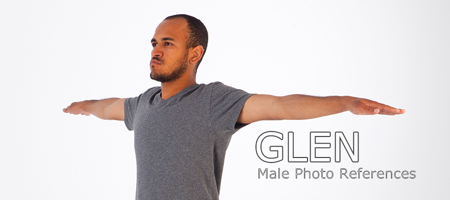 Glen: Nude Male Full Figure Photo References