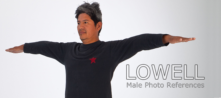 Lowell: Nude Male Full Figure Photo References