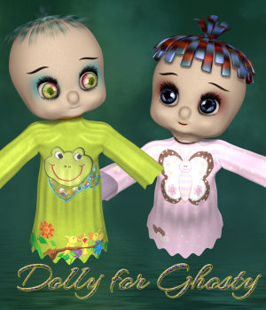 DA-Dolly for Ghosty 3D Figure Essentials DarkAngelGrafics