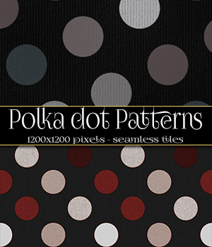 Polka Dot Patterns 2D Merchant Resources antje