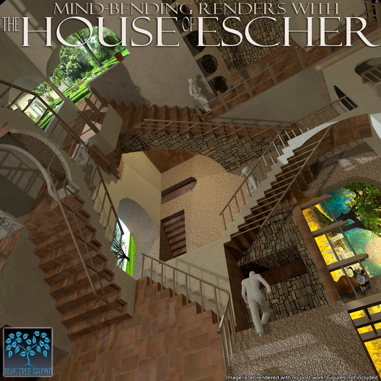 The House of Escher by BlueTreeStudio