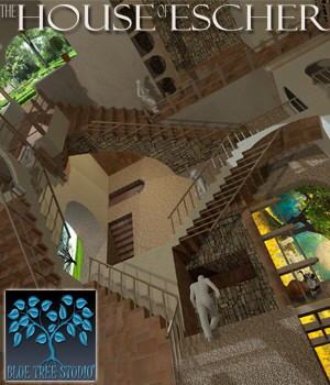 The House of Escher 3D Models BlueTreeStudio