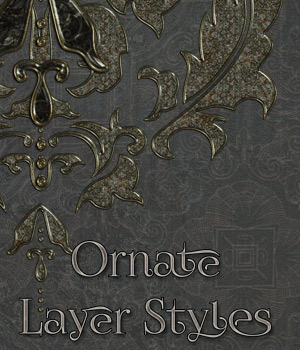 Ornate Styles 2D Graphics Merchant Resources antje
