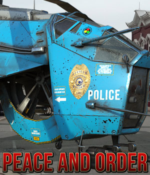 Peace and Order for Hunter Chopper by Cybertenko