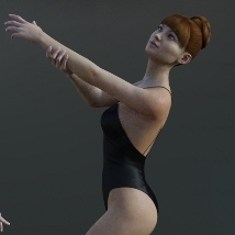 First Swan - Poses for the Genesis 3 Female image 1