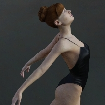 First Swan - Poses for the Genesis 3 Female image 2