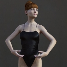 First Swan - Poses for the Genesis 3 Female image 3