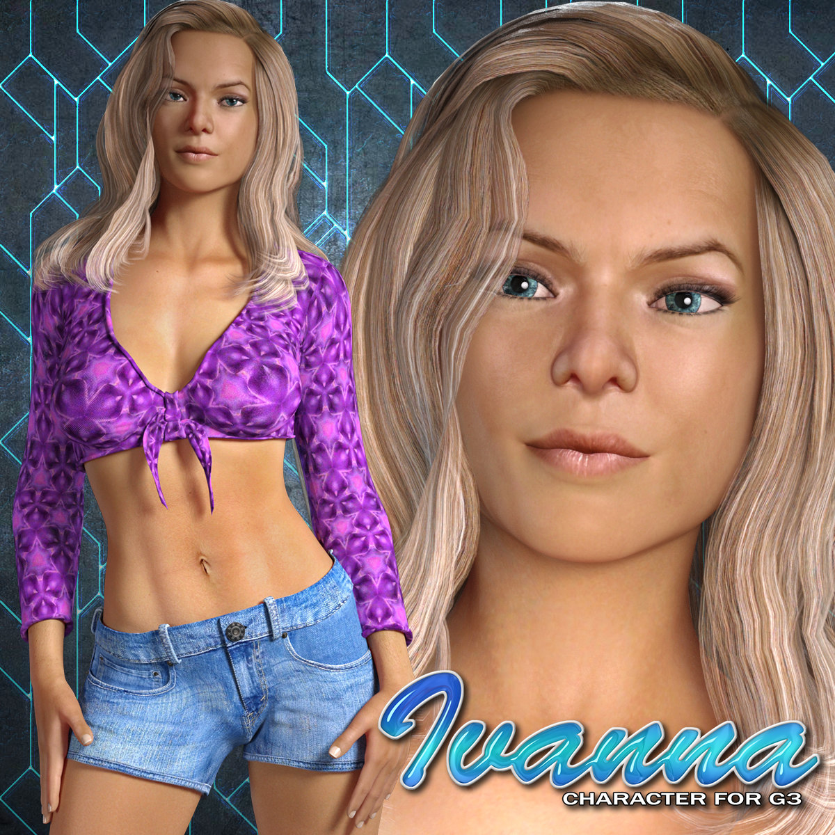 Exnem Ivanna Character for G3 Female