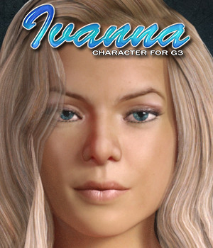 Exnem Ivanna Character for G3 Female 3D Figure Assets exnem