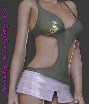 Nicely Naughty V4 3D Figure Essentials nirvy
