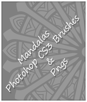 24 Mandala Brushes and PNGs 2D karanta