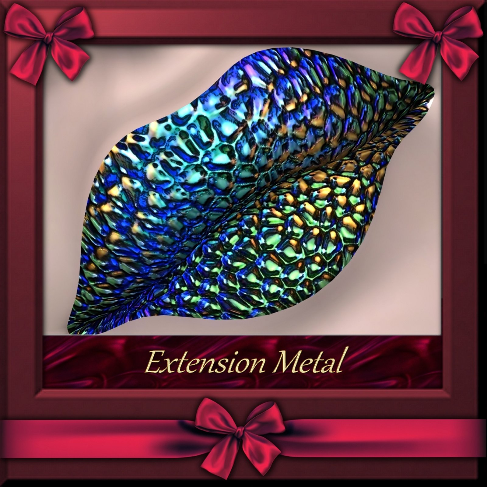 Botany : Metal Extension for Daz and Poser