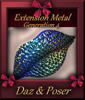 Botany : Metal Extension for Daz and Poser 3D Figure Essentials farfadelf