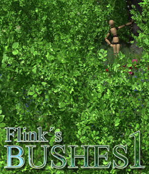 Flinks Bushes 1 3D Models Flink