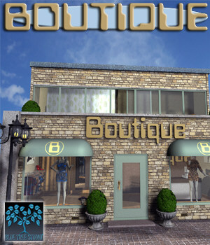 Boutique 3D Models BlueTreeStudio