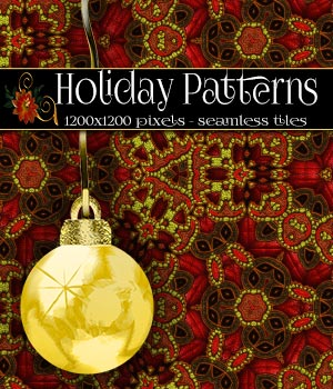 Holiday Patterns 2D Graphics Merchant Resources antje