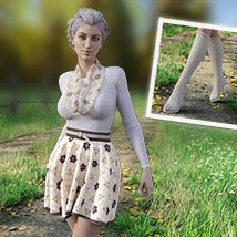 MIRABEL Textures for First Date Outfit image 1