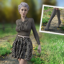 MIRABEL Textures for First Date Outfit image 2