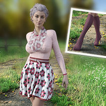 MIRABEL Textures for First Date Outfit image 3