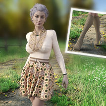 MIRABEL Textures for First Date Outfit image 4