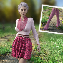 MIRABEL Textures for First Date Outfit image 5