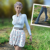 MIRABEL Textures for First Date Outfit image 6