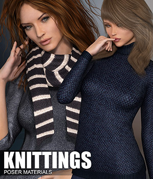 Poser - Knittings 2D Graphics Merchant Resources Atenais