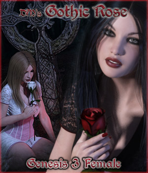 DMs Gothic Rose - Genesis 3F by DM