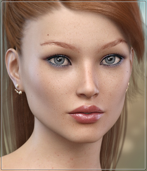 FWSA Ramona for Victoria 7 and Genesis 3 3D Figure Assets Sabby