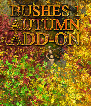 Flinks Bushes 1 - Autumn Add-on 3D Models Flink