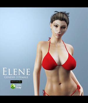 Elene for Genesis 3 Female 3D Figure Essentials adamthwaites