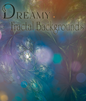 Dreamy Fractal Backgrounds 2D Graphics antje