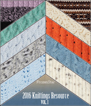 FS 2016 Knittings Resource Vol.I by FrozenStar