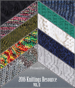 FS 2016 Knittings Resource Vol.II 2D FrozenStar