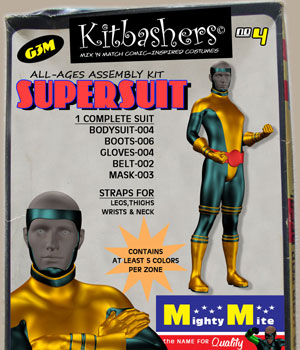 Kitbashers v04: By MightyMite for G3M 3D Figure Essentials MightyMite