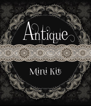 Antique - Mini Kit 2D Graphics Merchant Resources antje