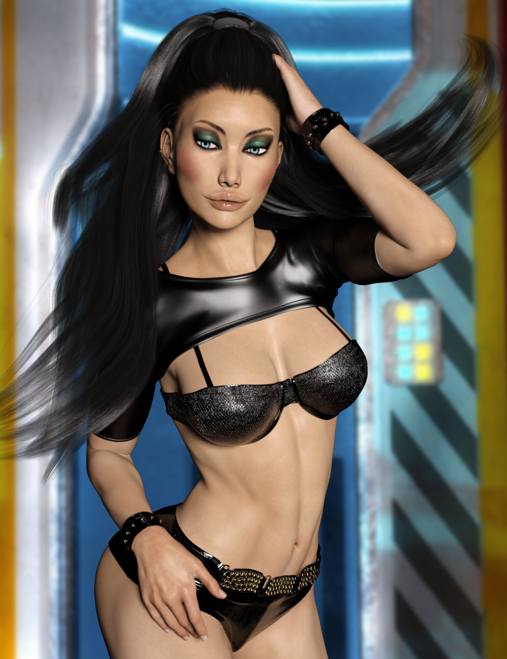 1dd41cdee1b9a InStyle - Joke Outfit for Genesis 3 Females 3D Figure Assets -Valkyrie-