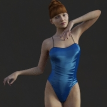 First Swan Two- Poses for the Genesis 3 Female image 1