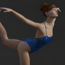 First Swan Two- Poses for the Genesis 3 Female image 2