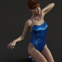 First Swan Two- Poses for the Genesis 3 Female image 4