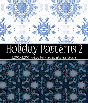Holiday Patterns 2 2D Merchant Resources antje