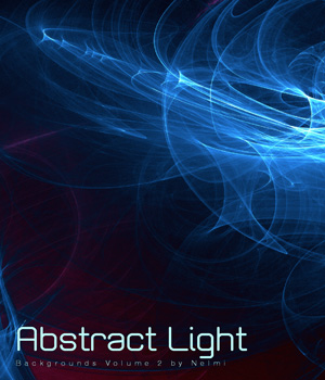 10 Abstract Light Backgrounds Volume 2 2D Graphics nelmi