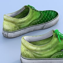 Canvas Shoes For G3F image 2