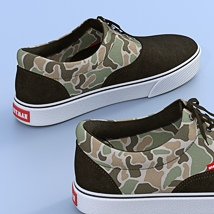 Canvas Shoes For G3F image 3